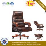 普及した牛革快適な管理の贅沢なオフィスの椅子(NS-926)