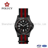 OEM Nylon Band Watch Stainless Steel Buckle Men Sport Quartz Watch