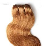 Pelo de la dicha del pelo humano de la Virgen de Braizlian del color de Ombre de la manera de Brown