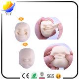 Bola antiesfuerza del respiradero de Caomaru de la bola del rostro humano de goma suave