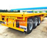 40FT 2/3/4 Aanhangwagen van de Vrachtwagen Platmorm van de As Flatbed Flatbed Semi