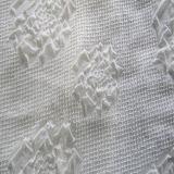 Polyester 100% geprägtes Chiffon- für Dame Scarf und Hemd