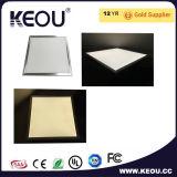 PF>0.9 Ra>80 45W LEDのパネル600X600mmの木の銀製の白