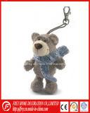 Brinquedo novo do urso da peluche do luxuoso de Keychain do presente da forma