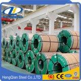 La norme ASTM A554 de tôles laminées à froid/chaud standard de 201 304 316 316L 310S 409 430 bobine en acier inoxydable