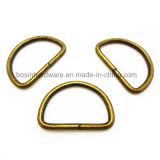 De antieke D-vormige ringen van het Metaal van het Brons