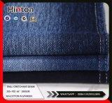 Tessuto di lavoro a maglia del denim di stirata del cotone della saia per Jeans380GSM