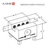 Schlitz-Typ des Schweißens-Elektroden-Halter-5mm für CNC-Gebrauch 3A-501108