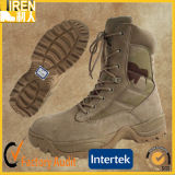 Ботинок пустыни ботинка безопасности Mens кожи коровы замши дешевый воинский тактический