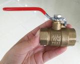 A tubulação de controle de latão forjado a válvula de esfera para água, gás (YD-1026)