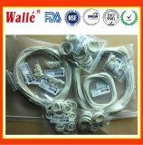 Válvula e Válvula de Teste FKM FDA e suas partes