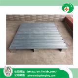 Palete de alumínio de paletes no depósito de armazenamento com marcação CE