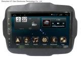 Système de l'androïde 6.0 navigation du large écran GPS de 9 pouces pour le Renegade 2015 de jeep