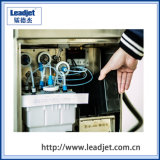Leadjet 1~4 líneas continuas e impresora de inyección de tinta de la fecha de vencimiento