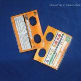 Vorsatz-selbstklebender Verpackungs-Beutel mit kundenspezifischer Zelle