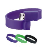 China-Förderung-Silikon-Armband 16GB USB-Platte-Blitz-Laufwerk