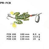 Richiamo morbido artificiale di pesca della rana 9g/12g/18g del Fotoricettore-Ffb dell'esca