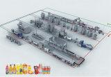 [كغف18-18-6] آليّة يعبّئ و [فيلّينغ مشن]/[تثرنكي] مشروع/ال [برودوكأيشن لين] من عصير/ماء وأخرى شراب