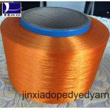 Hilados de polyester teñidos droga del filamento 750d/192f de FDY