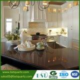 Искусственный Countertop кухни камня кварца Brown