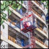 Sc320/320-3.2tの中国の構築の起重機または建物の起重機の上昇