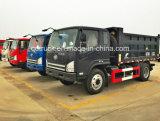 Carico di bassa potenza automatico di Sinotruk Cdw 737series piccolo mini che capovolge l'autocarro con cassone ribaltabile del ribaltatore del camion di scaricatore