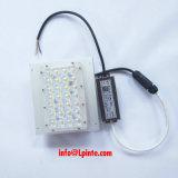 Kit de módulo de LED de 60W com dissipador de calor para lâmpada de estrada Retrofit