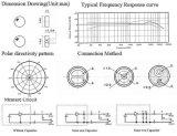 4*1.5mm Electrectの全方向性のコンデンサマイクロホンの工場Dgo4015dd-P2c