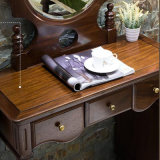 寝室の家具As822のための米国式の固体現代木製の化粧道具セット