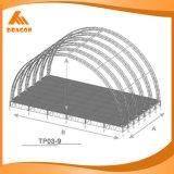 高品質のコンサートのためのアルミニウム円の屋根のトラスシステム