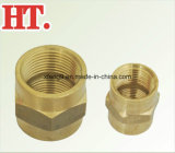 Ajustage de précision en laiton de PAP de couplage de pipe