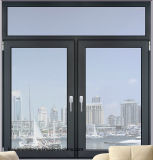 Doppeltes glasierte kundenspezifisches Aluminiumflügelfenster-Fenster