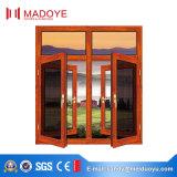 Алюминиевая дверь Windows профиля с экраном мухы