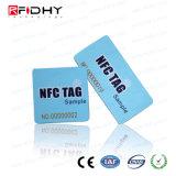 Überlegener Karten-Aufkleber der Anzeigen-Leistungs-MIFARE NFC für das Bekanntmachen