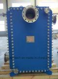 Permutador de calor da placa para aquecimento, refrigeração e energia