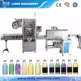 Bouteille automatique en plastique Étiquette Shrinking Machine