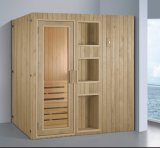 sauna di legno solido di rettangolo di 1800mm per 4 persone (AT-8645)