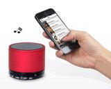 Cartão de memória altofalante preto de Bluetooth do jogador do Mic MP3 do mini micro