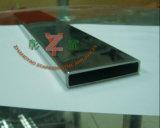 Tuyau rectangulaire soudé en acier inoxydable 316L
