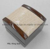 Rectángulo de regalo de empaquetado modificado para requisitos particulares de la joyería de madera