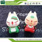 подарок рождества заряжателя USB крена силы 5200mAh Santa Claus самый лучший