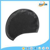 ケイ素の水泳の帽子カバーは耳の水泳帽を保護する
