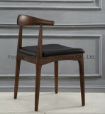 Soildのレストランのための木製の屋外の家具のコーヒー椅子