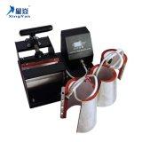 10oz 11oz 120z 170z 4en1 Mug Appuyez sur la machine de chaleur/Mug bouteille Machine d'impression du logo