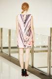 Безрукавный платье переноса Ponte с печатью размещения цифров