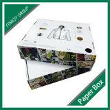 Коробка коробки изготовленный на заказ куртки упаковывая