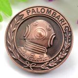 Moneda de cobre de encargo de Nueva York Fbi 3D del fabricante