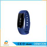 Wearable Slimme Armband van het Apparaat met Sdk, de Manchet van Bluetooth van de Pedometer