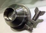 304 316 para uso alimentario de acero inoxidable sanitario Rosca Macho la válvula de retención