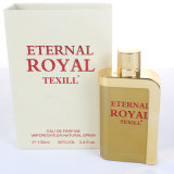 frasco de perfume personalizado vidro do pulverizador 100ml de 100ml Colónia para homens